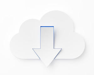 Cloud computing, downloading