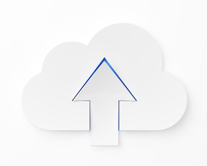 Cloud computing, upload
