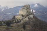 Sacra di San Michele or Saint Michael's Abbey, Piedmont, Italy
