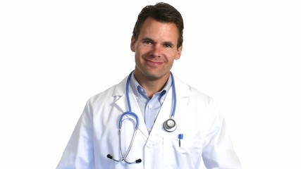 Medical professional with stethoscope