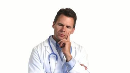 Caring doctor