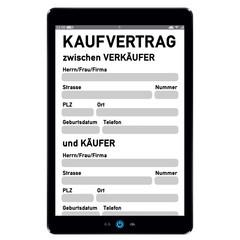 Touchscreen PC mit Kaufvertrag - g577