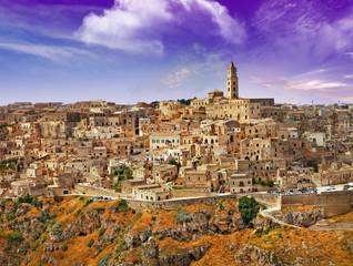 incretible Italy series - ancient  Mattera, Basilicata
