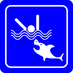 Sharks - No swimming