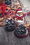 Christmas decoration for winter holidays