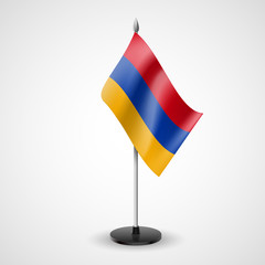 Table flag of Armenia