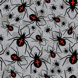 Vector spiders seamless pattern
