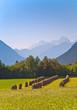beautiful landscape in the tirolean Alps