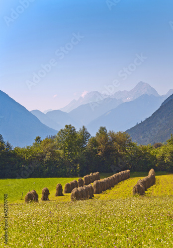 beautiful landscape in the tirolean Alps