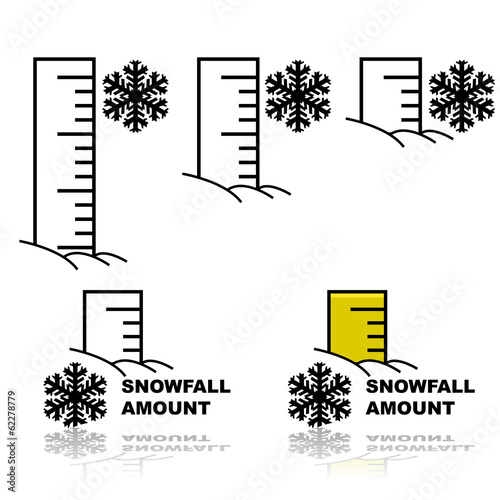 Snowfall amount