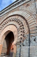 Porte remparts Marrakech