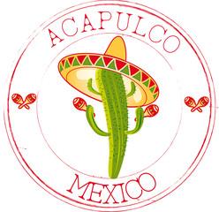 Stamp Acapulco