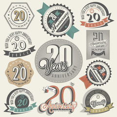 Vintage 20 anniversary collection