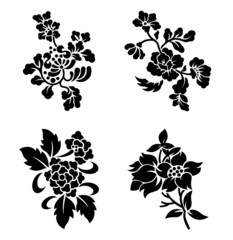 草花紋A01