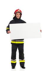 Fireman announcement.