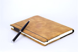 Leather Notebook ,Isolated