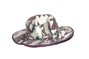 Hat camouflage is old for vintage