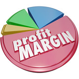 Profit Margin Pie Chart Making Money More Revenue Growth Increas