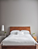 Fototapety Beautiful Clean and Modern Bedroom