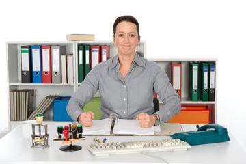 Resolute Businesswoman