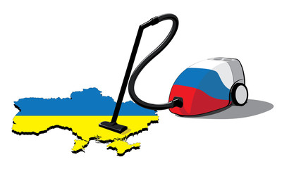 russia vacuum cleaner in ukraine