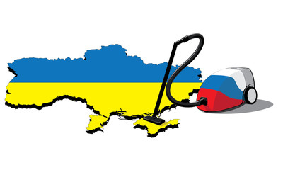 russia vacuum cleaner in crimea