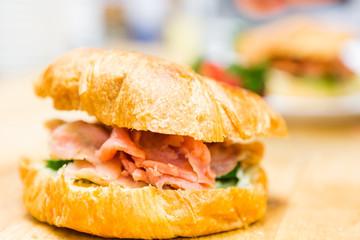 Lox delight sandwich