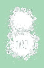 8March green