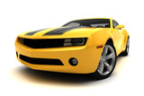 Fototapety Sports car - Racing car