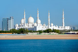 Wonderful mosque in Abu Dhabi