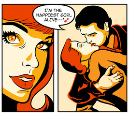 Comics love story