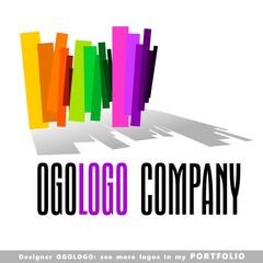 logo, global, business, vector, symbol