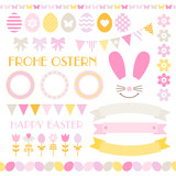 Easter Set Pastel Orange