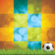 Soccer ball background.