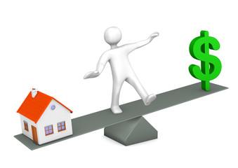 House Dollar Balance