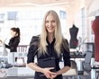 Fashion designer entrepreneur at small business
