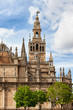 Gothic Seville Cathedral in Spain