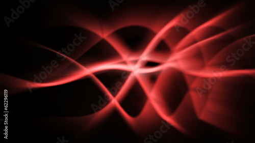 abstract light background of fire red light waves - seamless