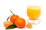 Juice and tangerines