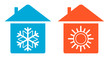 set warm and cold in home icon