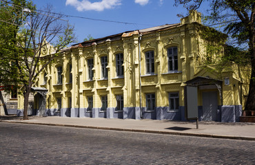 old architecture of Kharkov. Ukraine.