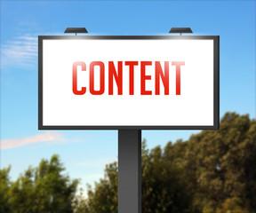 Content Outdoor Billboard