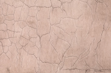 Old weathered concrete wall texture with cracks