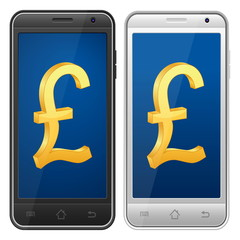 smartphone pound symbol