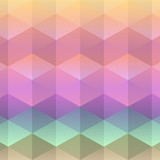 Pastel triangle background