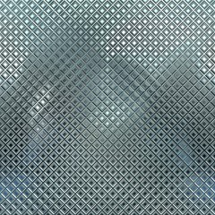 Metal mosaic. Seamless background.
