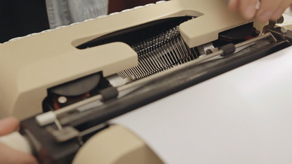 Typewriter dutch angle 1
