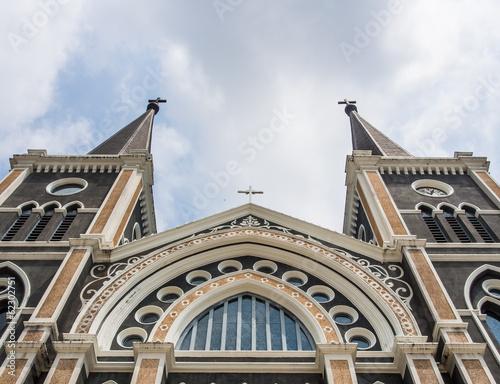Foto op Plexiglas Kiev Symmetry of church