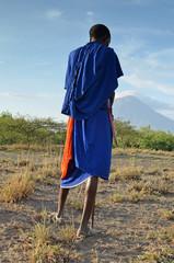 en terre masaï