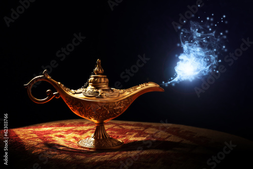 Magic Aladdins Genie lamp
